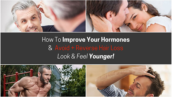 improve hormones and reverse hair loss