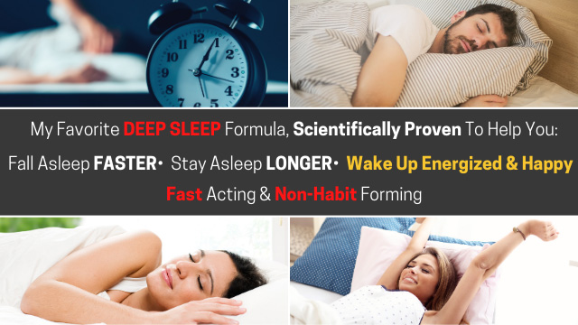 proven solution for deep quality sleep