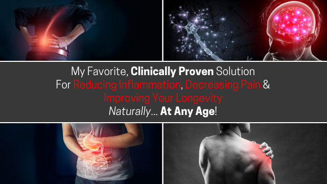 clinically proven solution to reduce inflammation and pain