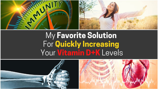 proven solution for increasing vitamin d and k