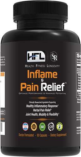 Inflame & Pain Relief bottle